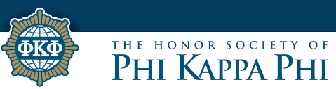 The Honor Society of Phi Kappa Phi